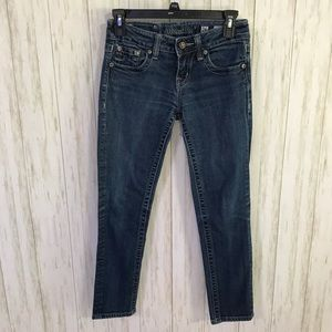Miss Me cropped skinny jeans 26